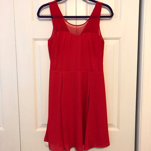 Red Holiday Cocktail Dress - Express
